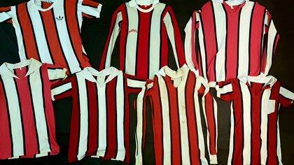 Camisetas de piqué usadas desde la década del 70 hasta 1984