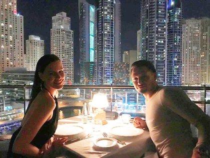 Natalie Weber y Mauro Zárate celebran 10 años de amor