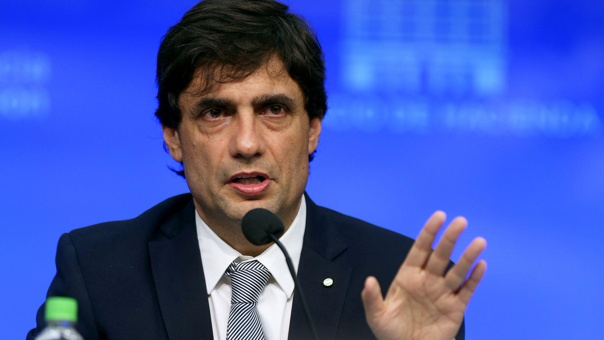 El ministro de Hacienda Hernán Lacunza