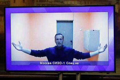 """Navalny denunció una """"flagrante violación de la ley"""", un acto """"arbitrario"""" que busca """"intimidar[lo]"""" e """"intimidar a todo el mundo"""". (REUTERS/Maxim Shemetov)"""