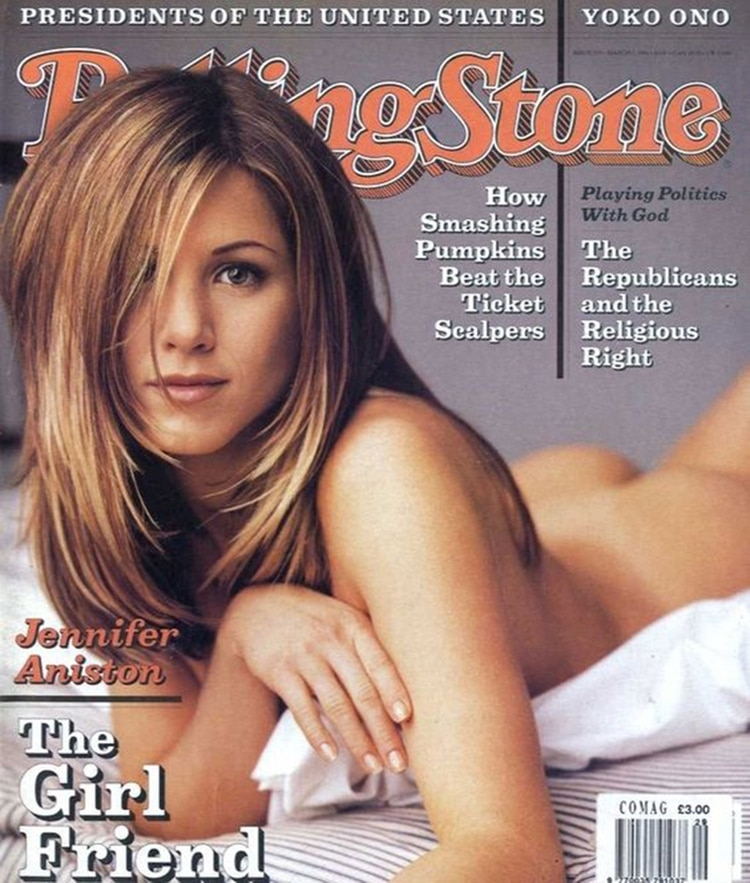 """La edición de marzo de 1996 de """"Rolling Stone"""""""