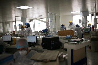 Declaran alerta naranja en red hospitalaria de Bogotá, Colombia