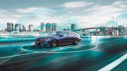 El Legend Hybrid comenzó a venderse en el mercado japonés (Honda)