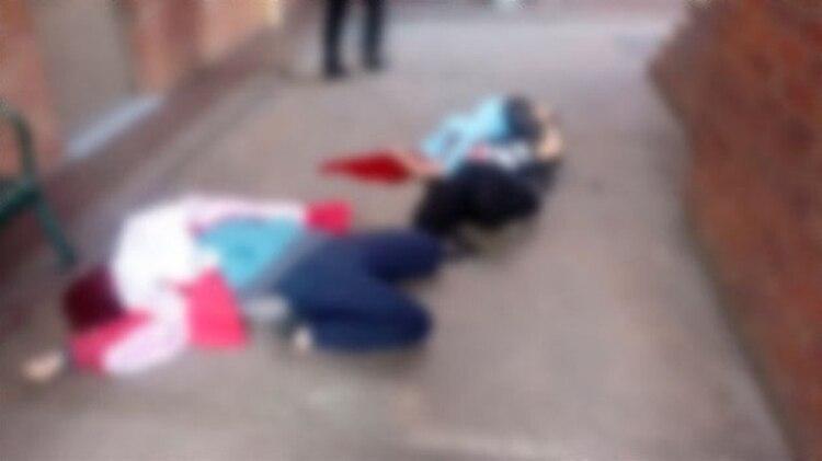 Hay cinco niños heridos y también a un maestro (Foto: Especial)