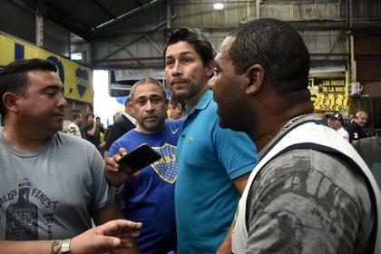 Bermúdez trabaja hombro a hombro con Riquelme en la contratación de refuerzos para Boca (Nicolás Stulberg)