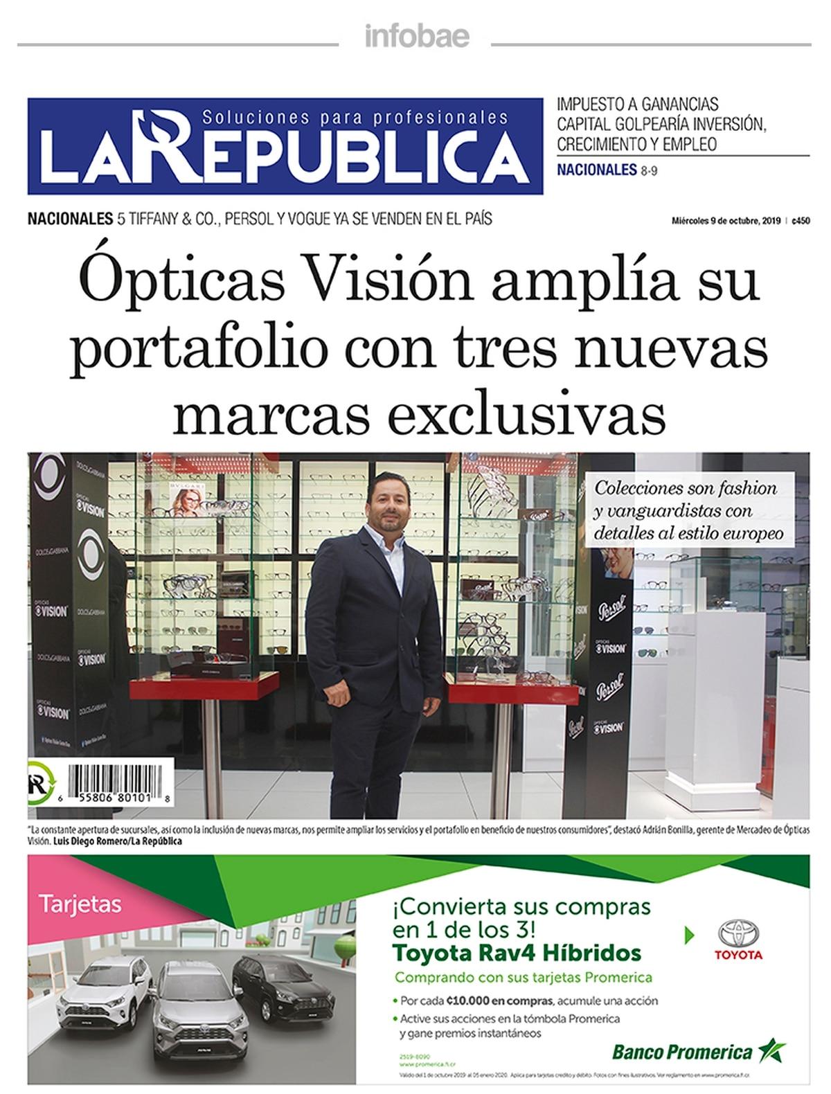 La republica – Costa Rica – 9 de Octubre de 2019