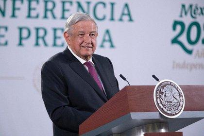 AMLO dijo en su conferencia mañanera que no se logró un acuerdo para que EU comparta vacunas con México. Foto: Presidencia de México