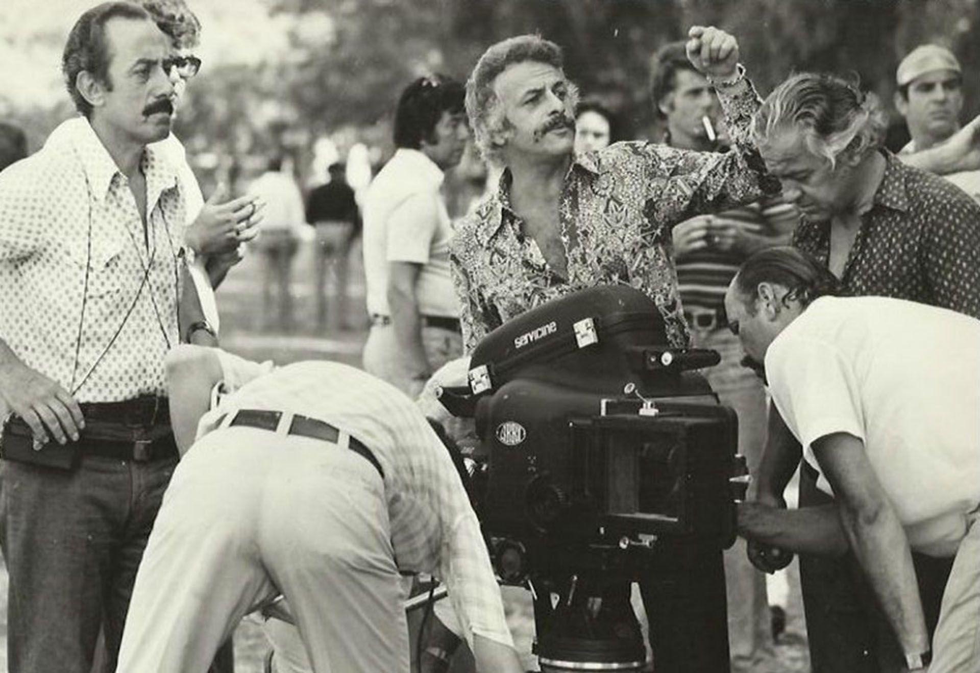 Sofovich, en sus primeros años en televisión