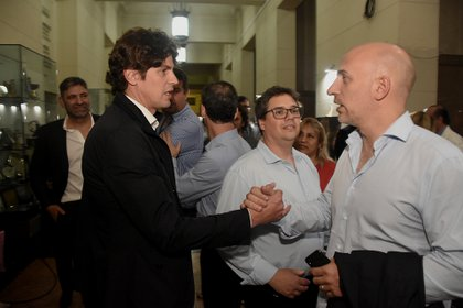 Martín Lousteau y Emiliano Yacobitti (Nicolás Stulberg)