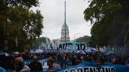 La protesta fue contra la política económica del gobierno nacional