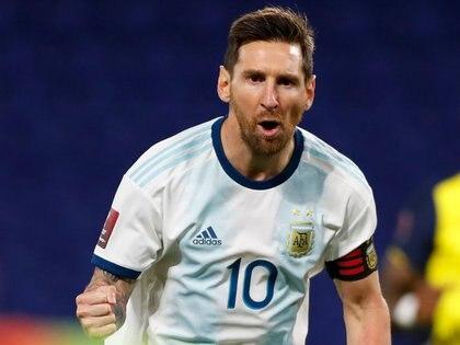 Messi viajará esta noche a Argentina para sumarse al plantel de la Selección de cara a los compromisos por Eliminatorias REUTERS/Agustin Marcarian