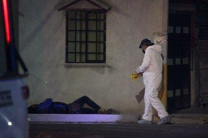 Imagen ilustrativa de un multihomicidio en Guanajuato (Foto: DIEGO COSTA/CUARTOSCURO)