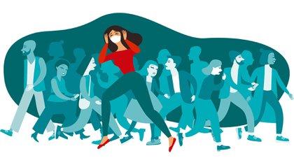 La ansiedad está muy ligada al miedo, pero reacciona antes de que el peligro esté presente de manera inminente (Shutterstock)