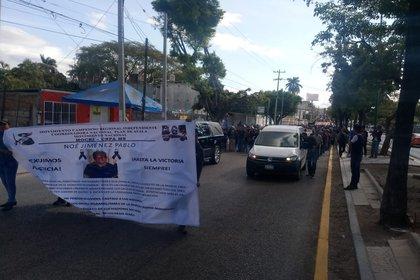 Exigen se esclarezca el asesinato de los dos activistas y se castigue a los responsables (Foto: Cortesía CENCOS)
