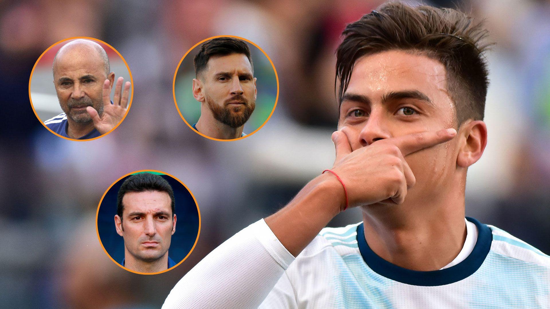 Paulo Dybala habló de lo que dejó la Copa América y lo sucedido con Sampaoli en el Mundial de Rusia 2018 (Grosby-Reuters)
