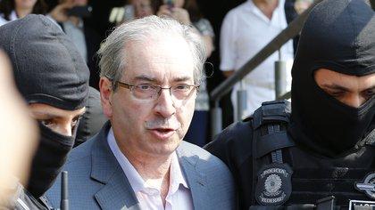Eduardo Cunha fue condenado a 15 años de prisión por corrupción (EFE/Hedeson Alves/Archivo)