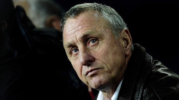 Cruyff, una especie de mentor para el Guardiola jugador y DT (AP)