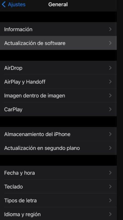 Ya está disponible iOS 14