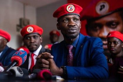 26/11/2019 El opositor ugandés Robert Kyagulanyi, más conocido por su nombre artístico de Bobi Wine POLITICA AFRICA UGANDA INTERNACIONAL LUKE1 / ZUMA PRESS / CONTACTOPHOTO