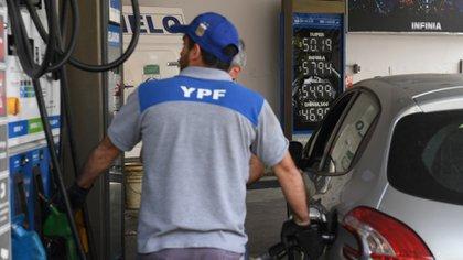 La nafta, que suele representar el 50% de las ventas totales, hoy no llega al 40%