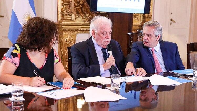 El presidente Alberto Fernández encabeza esta tarde una nueva reunión de gabinete