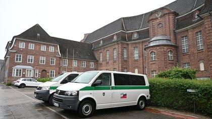 La prisión en la ciudad alemana Kiel donde se encuentra recluido el principal sospechoso de la desaparición de Madeleine McCann (REUTERS/Fabian Bimmer)
