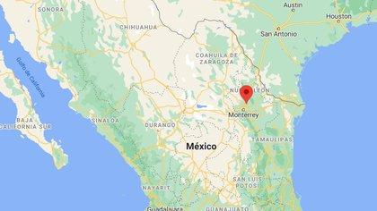 El sismo se localizó en Ciénega de Flores (Google Maps)