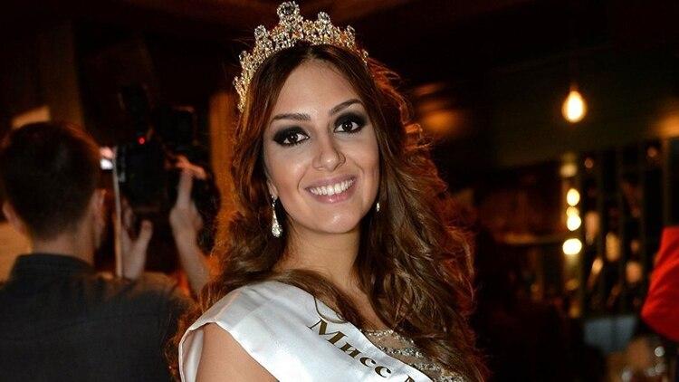 La joven rusa ganó el concurso Miss Moscú en 2015