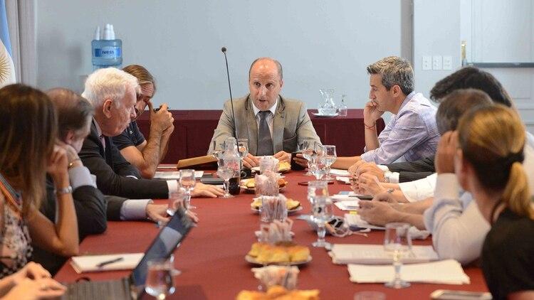 Mariano Borinsky en una reunión de la Comisión de Reforma del Código Penal