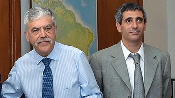 Julio De Vido y Roberto Baratta