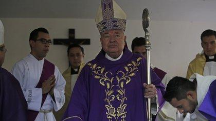El cardenal Juan Sandoval Íñiguez, de Guadalajara, llamó a la población a no temerle a la COVID-19. (Foto: Fernando Carranza/Cuartoscuro)