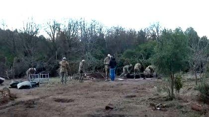 El Ejército y una comunidad mapuche reclaman por la posesión de terrenos en Bariloche