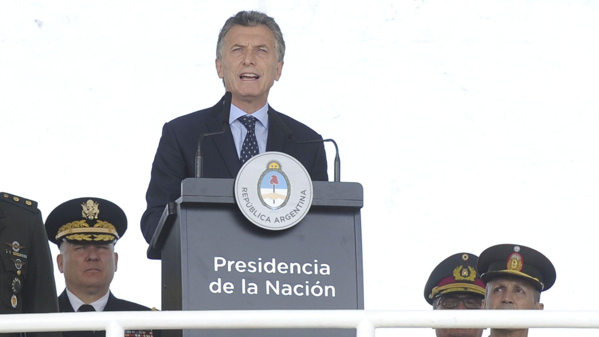 Mauricio Macri (Maximiliano Luna)