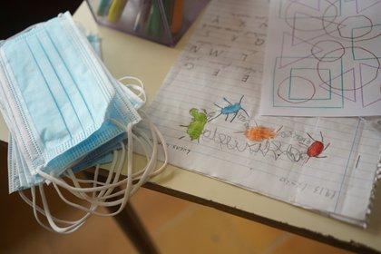 Habrá un nuevo protocolo en las aulas (REUTERS/Mariana Greif)