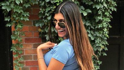 Mia Khaifa ahora tiene 27 años, está casada y quiere ser periodista deportiva (@miakhalifa)
