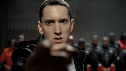 """""""Esta es la ciudad del motor, y esto es lo que hacemos"""", dice Eminem,"""
