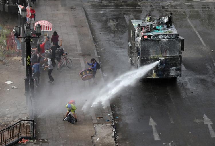La conflictividad social en Chile y Ecuador fue parte de la charla que ayer mantuvo Alberto Fernández con López Obrador.