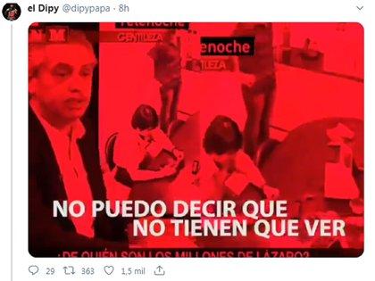 El Dipy compartió un video con antiguas declaraciones de Alberto Fernández sobre Cristina Fernández de Kirchner