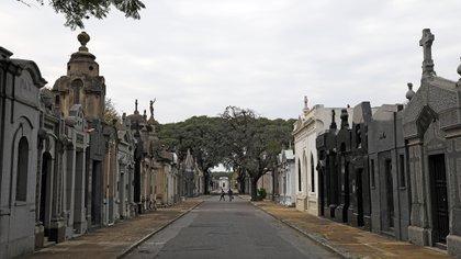 Recinto de la Personalidades en el Cementerio de la Chacarita