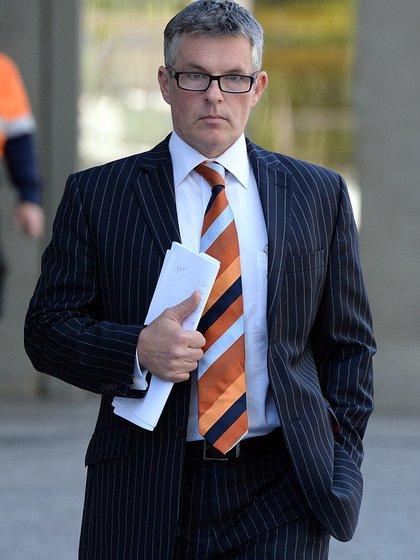 """El amante, Michael Robertson: el médico australiano estaba casado, juró que no sabía nada de los planes de su amante y aseguró que su único """"crimen"""" fue haber sido infiel (AP)"""
