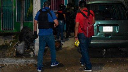 La ola de violencia en México a azotado a Quintana Roo durante las últimas semanas (Foto: Fiscalía General del Estado)