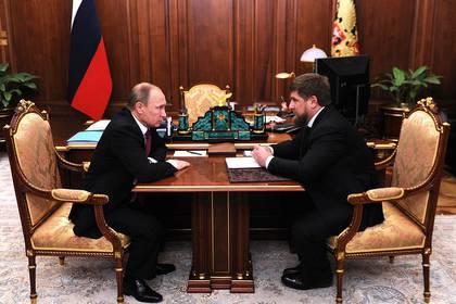 Putin y Kadyrov