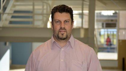 Gabriel Absi, ingeniero electrónico de la UTN y gerente de Proyectos Espaciales de Invap