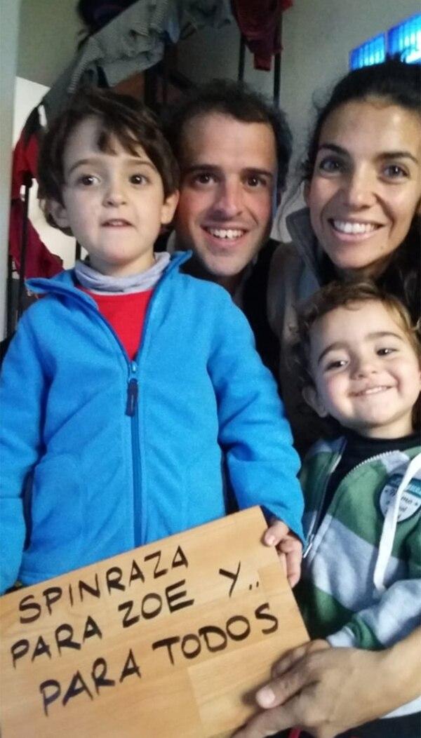 La familia de Zoe está luchando para que los pacientes con AME puedan acceder al medicamento