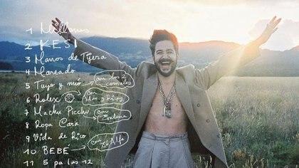 El nuevo disco del colombiano cuenta con 11 canciones (Foto: IG @Camilo)