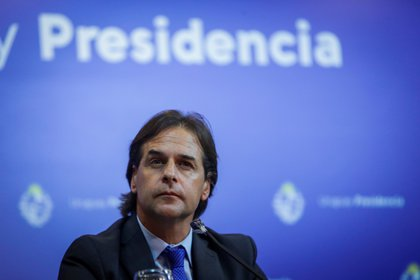 En la imagen, el presidente de Uruguay, Luis Lacalle Pou. EFE/Federico Anfitti/Archivo