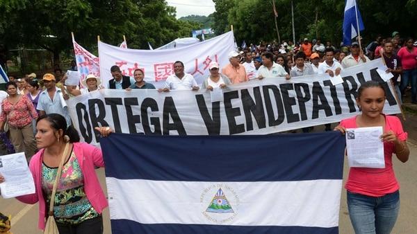 Los nicaragüenses vuelven a marchar contra Daniel Ortega