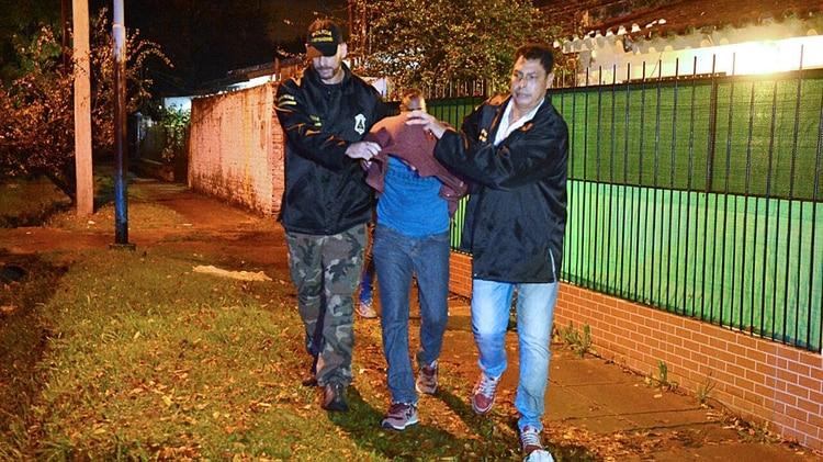 Adentro:Peñaflor en su última detención