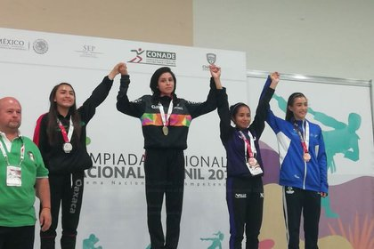 Fue atleta destacada en Taekwondo, disciplina que la ayudó a colocarse como la subcampeona nacional de este deporte en la Olimpiada Juvenil Ciudad Juárez 2018 y seleccionada estatal. (Foto: Twitter)