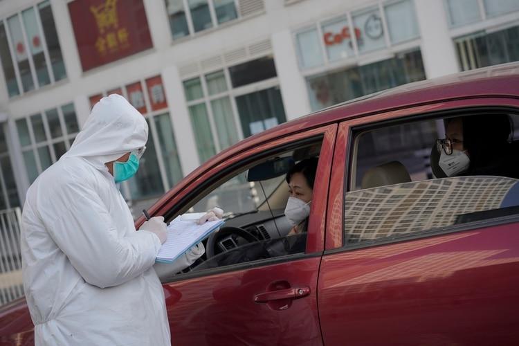 Controles en Beijing (Reuters/ Stringer)